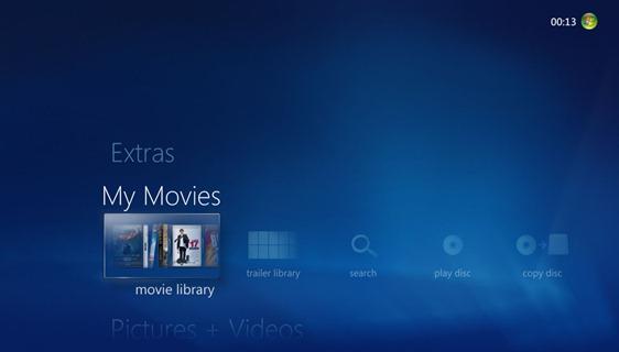 02 - Start Menu Strip - Movie Library