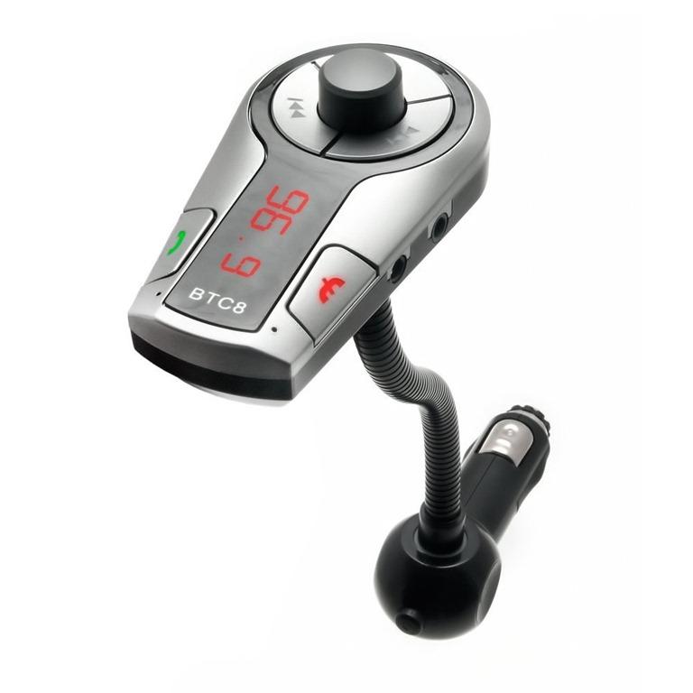 BCT8 Bluetooth FM Transmitter Review