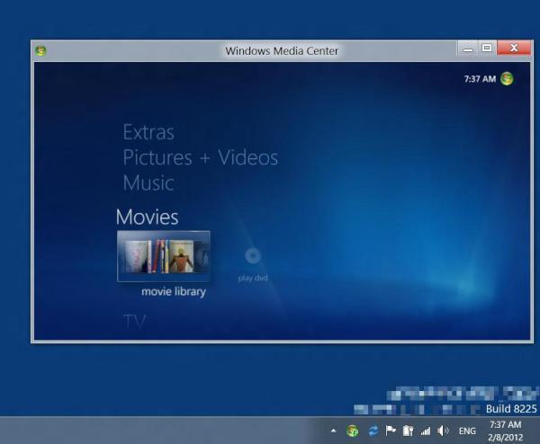 Windows 8 Media Center - Not Dead Yet