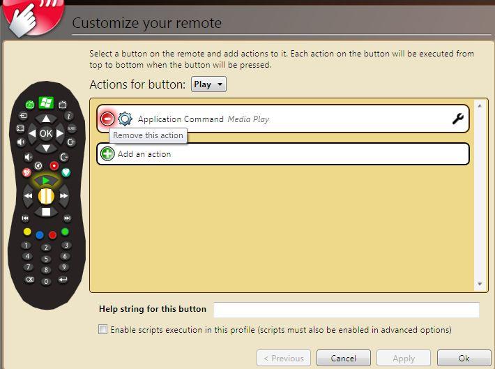 Using a TiVo Slide Remote with Windows Media Center